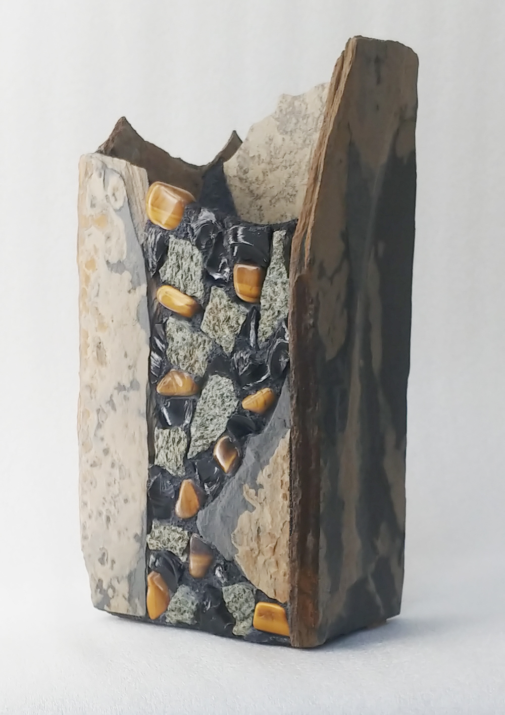 Vases For Sale Tall Slate Vase With Tiger S Eye