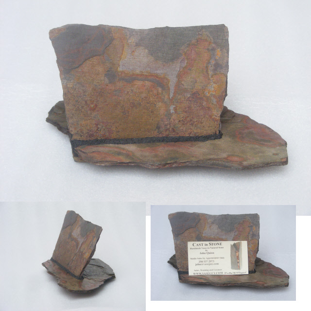 Natural stone business card holders by vaseguy 2 reheart Choice Image